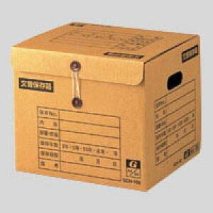 【まとめ買い10個セット品】 イージーストックケース 文書保存箱 段ボール製 留めひもタイプ(上開き) SCH-102 【メイチョー】