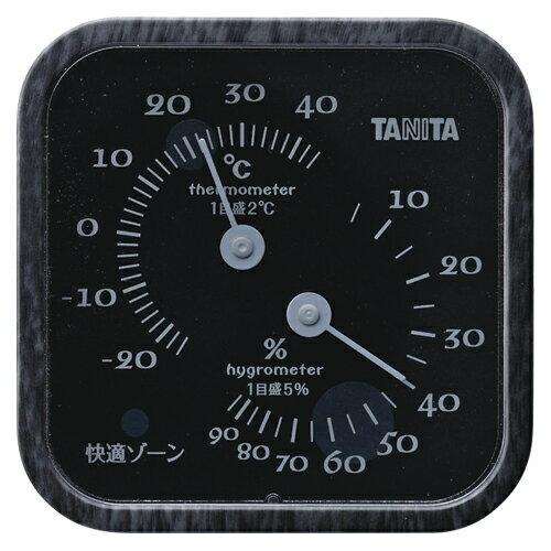 【まとめ買い10個セット品】温湿度計 TT-570BK ブラック 1個 タニタ【開業プロ】