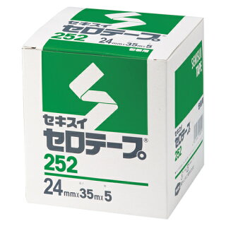 セキスイセロテープ#25224X355巻C10BX64【メイチョー】