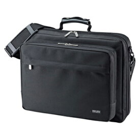 サンワサプライ PCキャリングバッグ BAG-U54BK2 ブラック 【メイチョー】