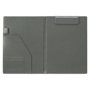 ベルポスト クリップファイル A4判タテ型(二つ折りタイプ) BP-5724-60 ブラック 【メイチョー】