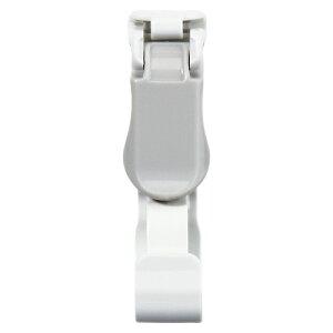 名札用クリップ プラスチッククリップ 10個入(安全ピンなし) NX-14-GY 灰 【メイチョー】
