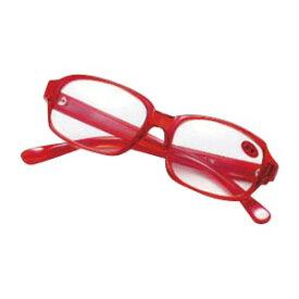 老眼鏡セット 老眼鏡 S-106W 赤 【メイチョー】