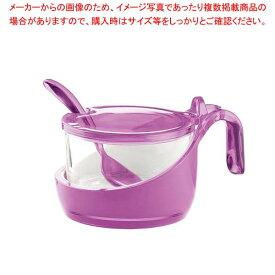 グッチーニ シュガー/パルメザンチーズジャー 248900 01バイオレット 【メイチョー】【 オーブンウェア 】