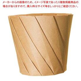 おりがみカップ 小(20枚入)茶 520cc 【メイチョー】厨房消耗品