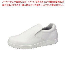 アキレス スニーカー クッキングメイト100 白 30.0cm 【メイチョー】ユニフォーム