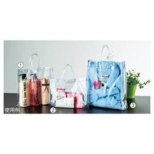 ビニールバッグ 30×30×6cm 【 ラッピング用品 紙袋 その他バッグ ビニールバッグ 】【メイチョー】