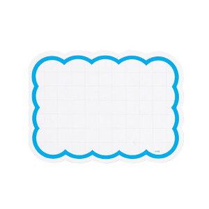 【まとめ買い10個セット品】 抜型カード雲型 大 ブルー 30枚入 値札【販促用品 ディスプレー ポップ 値札 ショーカード プライスカード タグ 荷札 店舗 セール 広告 商品 業務用】