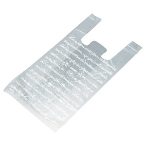 【まとめ買い10個セット品】 フロスト レジ袋 30×55(39)×横マチ15 2000枚【店舗備品 包装紙 ラッピング 袋 ディスプレー店舗】