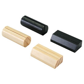 えいむ木製カード立て 木理-42(丸型) 【メイチョー】