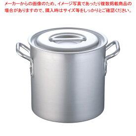 寸胴鍋 アルミニウム(アルマイト加工) (目盛付)TKG 24cm【メイチョー】