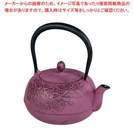IK 鉄瓶 瑞光 紫 【メイチョー】