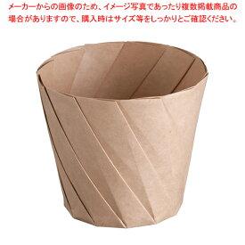 おりがみカップ(20枚入) 小 茶 【メイチョー】