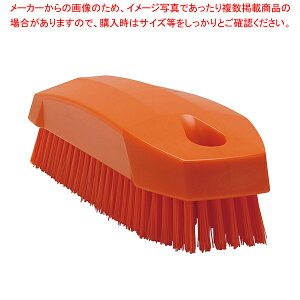 ヴァイカン ネイルブラシ ハードタイプ 6440 オレンジ 【メイチョー】