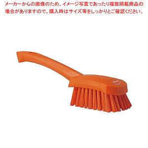 ヴァイカン ハンドル付ブラシ 4192 ハードタイプ オレンジ 【メイチョー】