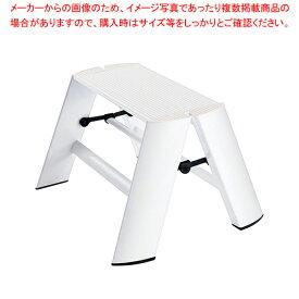 ルカーノ ステップスツール ML1.0-1 ホワイト 【メイチョー】