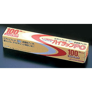 三井 ハイラップPO 幅30cm×100m ケース単位30本入【 ラップ 保管 かぶせる 料理 】 【メイチョー】