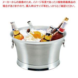 18-8 ジャンボビバレッジクーラー (2重構造)【 ワイン ボトルクーラー おしゃれ カクテル ワインクーラー カクテルクーラー アイスクーラー おすすめ ワイン 冷やす バケツ 入れ物 氷クーラー