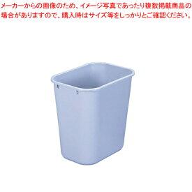 ラバーメイド ソフトウェイストバスケット No.2957(ライトグレイ)【メイチョー】【部屋のゴミ箱 ダストbox くずかご 】