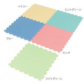 ジョイントコーナーシステム フロアーマットDX ライトグリーン 【メイチョー】