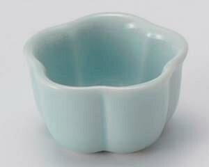 和食器 カ085-407 青磁梅型珍味(小) 【メイチョー】