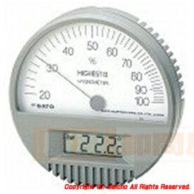 [株]佐藤計量器製作所 佐藤 湿度計 ハイエスト2型湿度計[温度計付] 754200 メイチョー