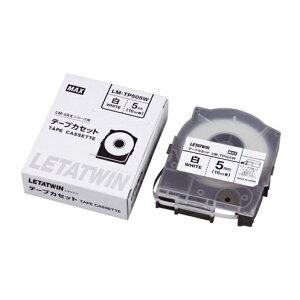 【まとめ買い10個セット品】 チューブマーカー・レタツイン専用消耗品 テープカセット テープカセット 16m LM-TP505W 白テープ 【メイチョー】