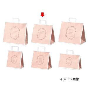 手提げ紙袋 エレガントスイート 30×28.5cm 200枚【 ラッピング用品 包装 ラッピング袋 洋菓子向け 手提げ袋 手提げ紙袋 消耗品 かわいい 業務用 】