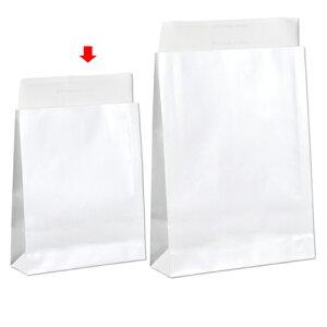 【まとめ買い10個セット品】 宅配袋 ホワイト ラミあり 小 100枚【 梱包材 引越し 宅配 配送 贈り物 プレゼント 日用品 文具 かわいい 業務用 】