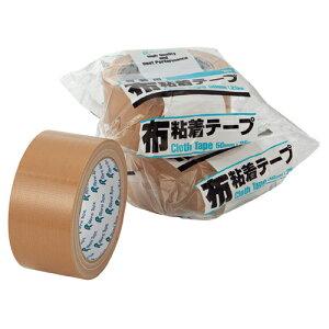 【まとめ買い10個セット品】 リンレイ 布テープ 50mm 幅×25m 1巻【 梱包材 梱包テープ 布テープ 引越し 宅配 配送 日用品 文具 業務用 】