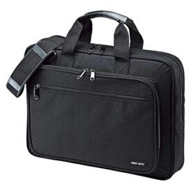 サンワサプライ PCキャリングバッグ BAG-U52BK2 ブラック 【厨房館】