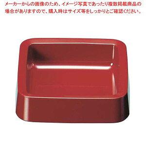 角灰皿 DX DH-61 赤【 卓上小物 】 【厨房館】