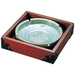 【まとめ買い10個セット品】古代灰皿 小 J-4S けやき【 灰皿 アシュトレイ 業務用 】 【厨房館】