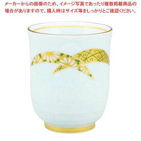 【 業務用 】アルセラム強化食器 金銀扇湯呑 EC1-68