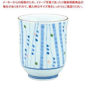 【 業務用 】アルセラム強化食器 色点十草湯呑 EC1-72