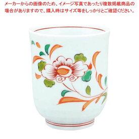 【 業務用 】アルセラム強化食器 錦草花湯呑 EC1-73