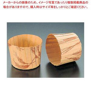 【まとめ買い10個セット品】 マフィンカップ 小麦柄(80枚入)M-108 φ59 【厨房館】