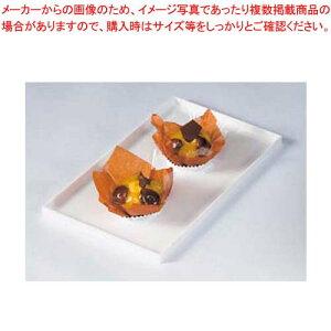 【まとめ買い10個セット品】 菓子ケース用バット タイプ1 白 【厨房館】【 ディスプレイ用品 】