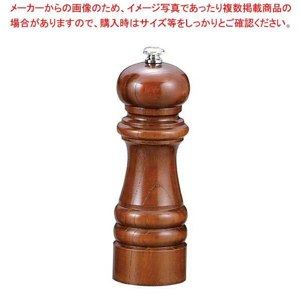 【 業務用 】IKEDA ソルトミル(岩塩挽・ケヤキ)6105