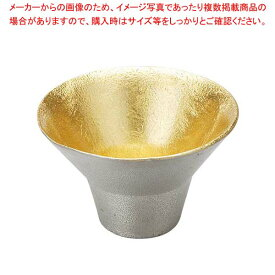 能作 錫 盃 喜器(きき)I 金箔 30cc 511250 【厨房館】和・洋・中 食器