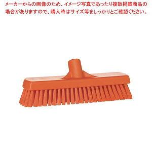 ヴァイカン デッキブラシ ハードタイプ 70607 オレンジ 【厨房館】