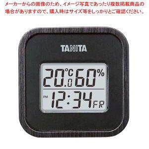 タニタ デジタル温湿度計 TT-571-BK ブラック 【厨房館】温度計