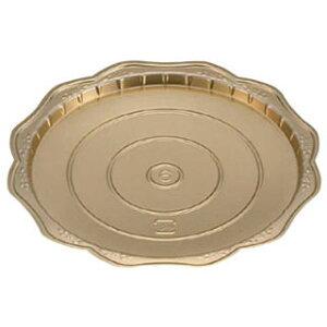 【 Gリーフゴールドデコトレー 丸40[200枚入] 】【 厨房器具 製菓道具 おしゃれ 飲食店 】 【厨房館】