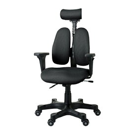 オフィスチェア DUOREST ブラック 1台 DR-7501SP 【厨房館】