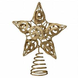 トップスター ゴールド 1個【クリスマス クリスマスツリー ツリー 店舗装飾 飾り ディスプレイ christmas xmas】【厨房館】