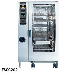 【 業務用 】フジマック 業務用コンビオーブン FSCCシリーズ ガス式 FSCC202G W1084×D996×H1782 【 メーカー直送/代引不可 】