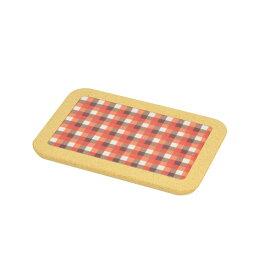 パール金属 ファントゥクック 角型鍋敷22×15cm(オレンジ) 【厨房館】