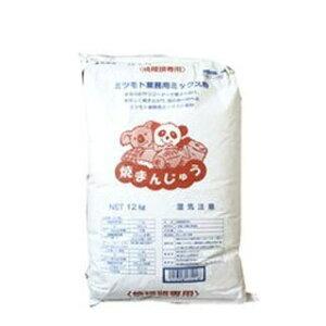 【 業務用 】蜜元 大判焼・たい焼き粉[焼饅頭専用粉]12kg