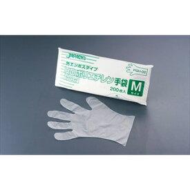 【まとめ買い10個セット品】【 業務用 】ジャパックス HDポリエチレン手袋 M