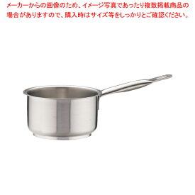 パデルノ 18-10片手深型鍋 (蓋無) 1006-14【 片手鍋 IH IH対応 】 【厨房館】